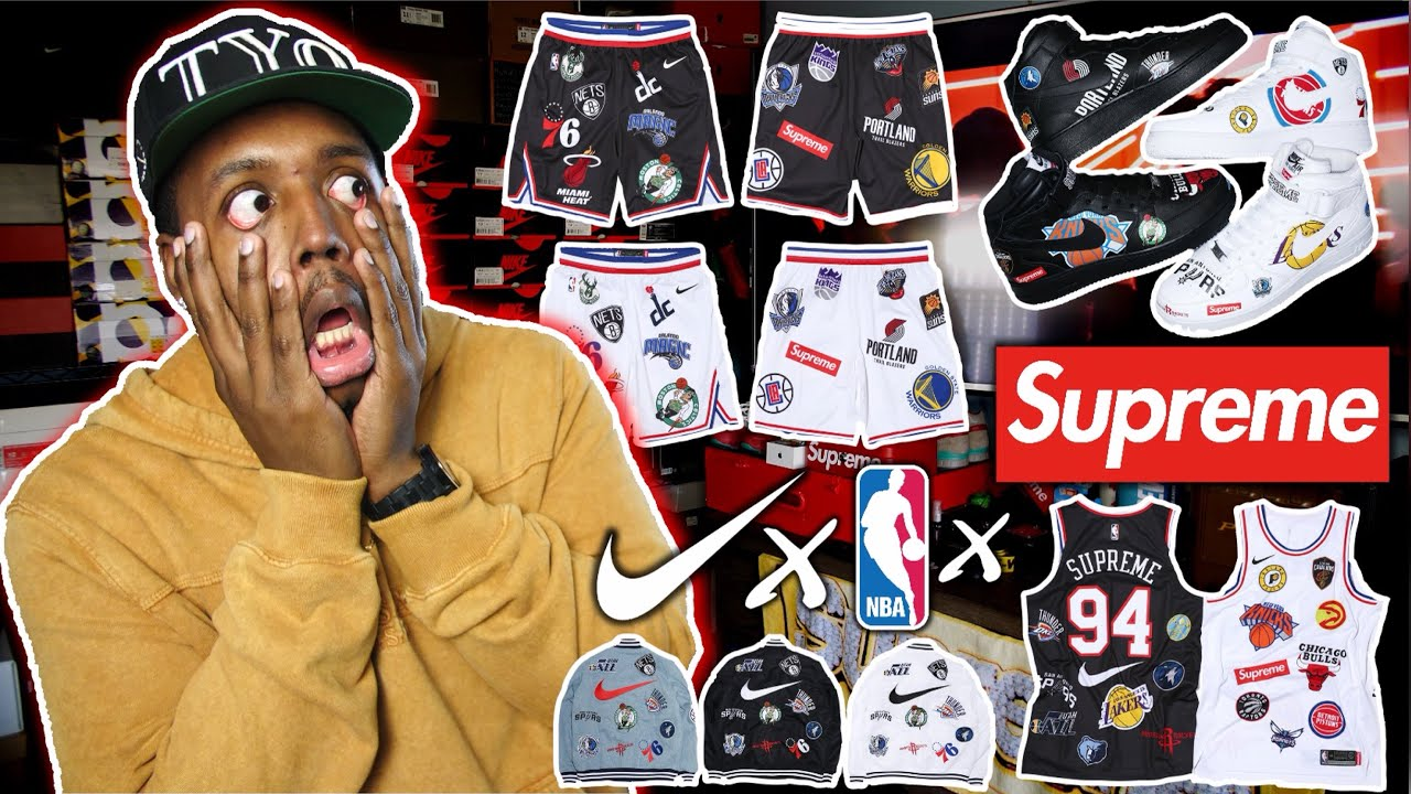 MY THOUGHTS ON SUPREME x NBA x NIKE DROP WEEK 3 RANT Cop Or Drop - MY THOUGHTS ON SUPREME x NBA x NIKE! DROP WEEK 3 RANT! (Cop Or Drop)