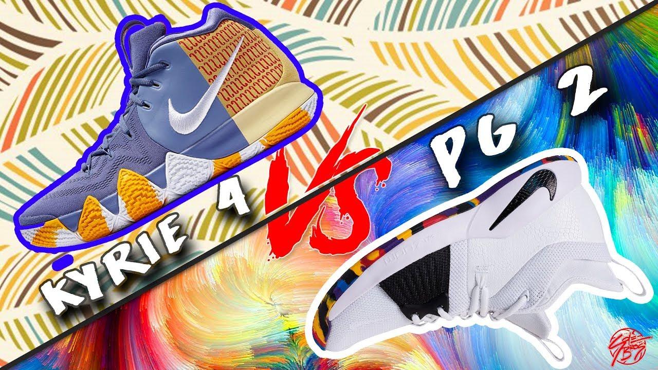 Nike Kyrie 4 vs PG 2 - Nike Kyrie 4 vs PG 2!