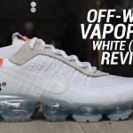 OFF WHITE NIKE VAPORMAX 2018 WHITE REVIEW