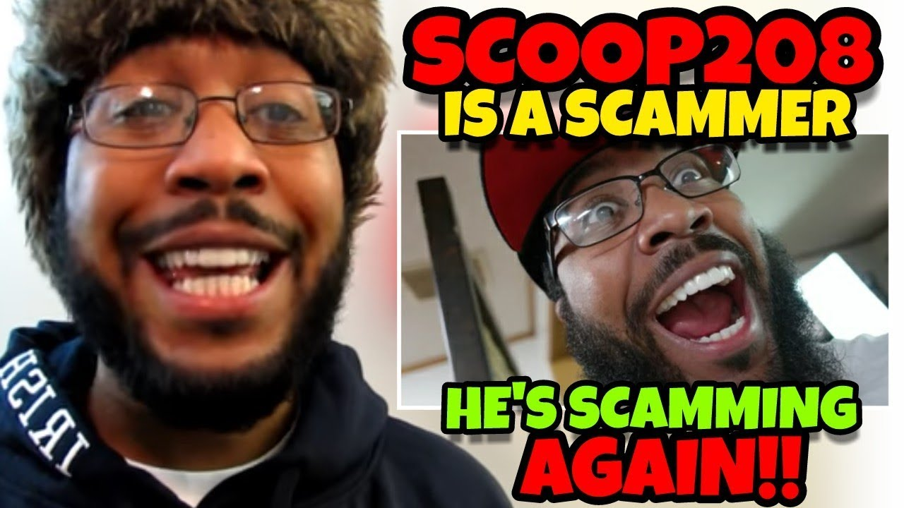 Scoop208 Is Scamming Again He Has a NEW SCAM SMDH - Scoop208 Is Scamming Again!! He Has a NEW SCAM!! SMDH!!