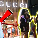 WEARING RUINED GUCCI TO THE GUCCI STORE!