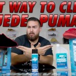 What's the best ways to clean suede Pumas with Reshoevn8r