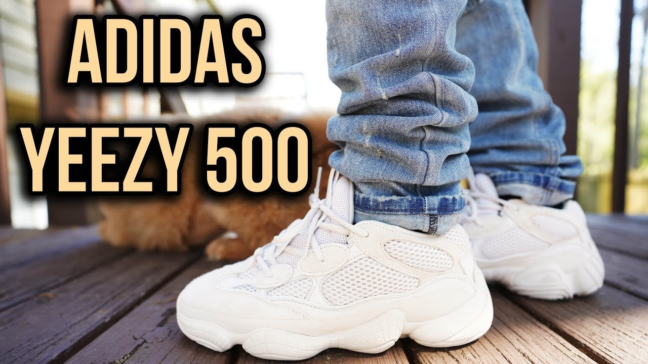 ADIDAS YEEZY 500 DESERT RAT BLUSH REVIEW AND ON FOOT  - ADIDAS YEEZY 500 DESERT RAT BLUSH REVIEW AND ON FOOT !!!