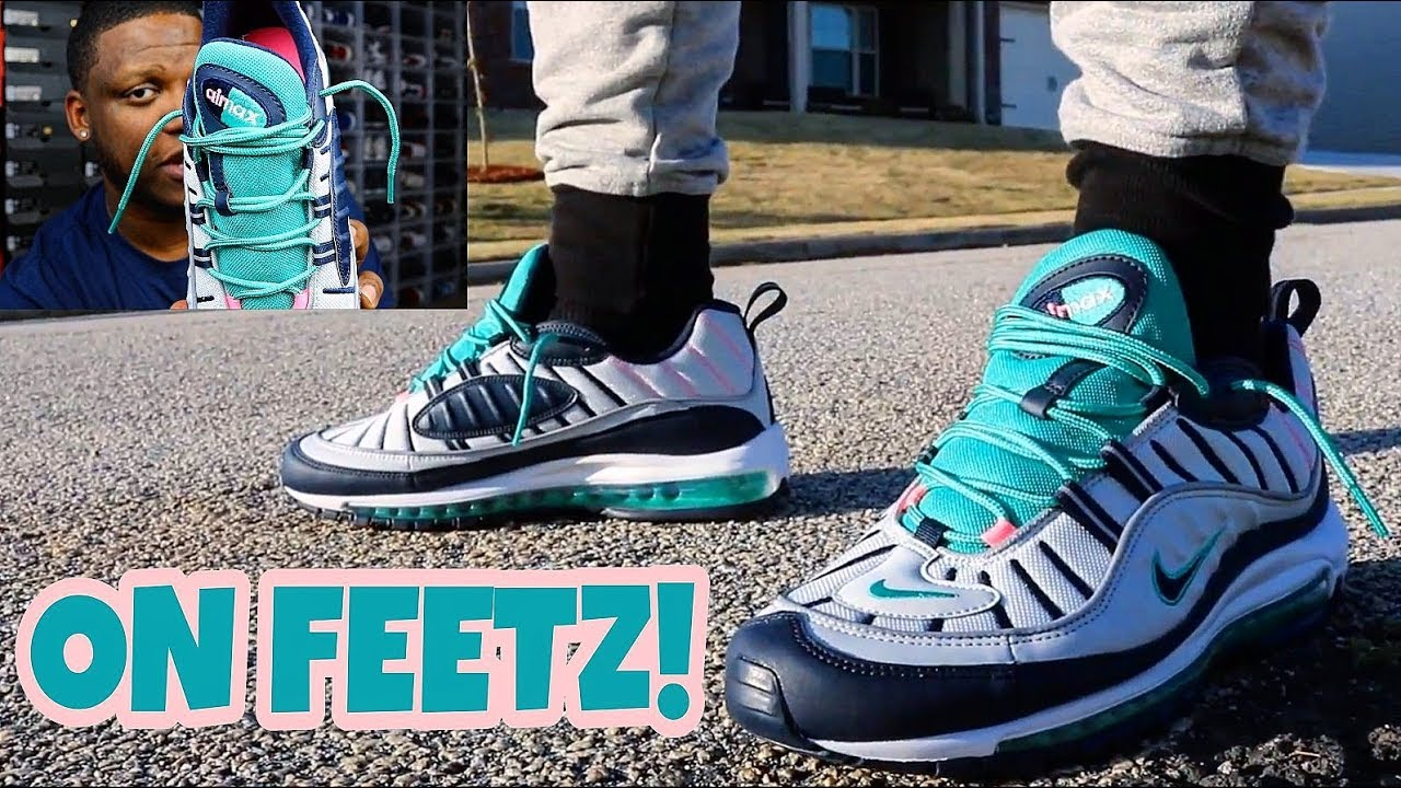 Air Max 98 South Beach On Feet Review