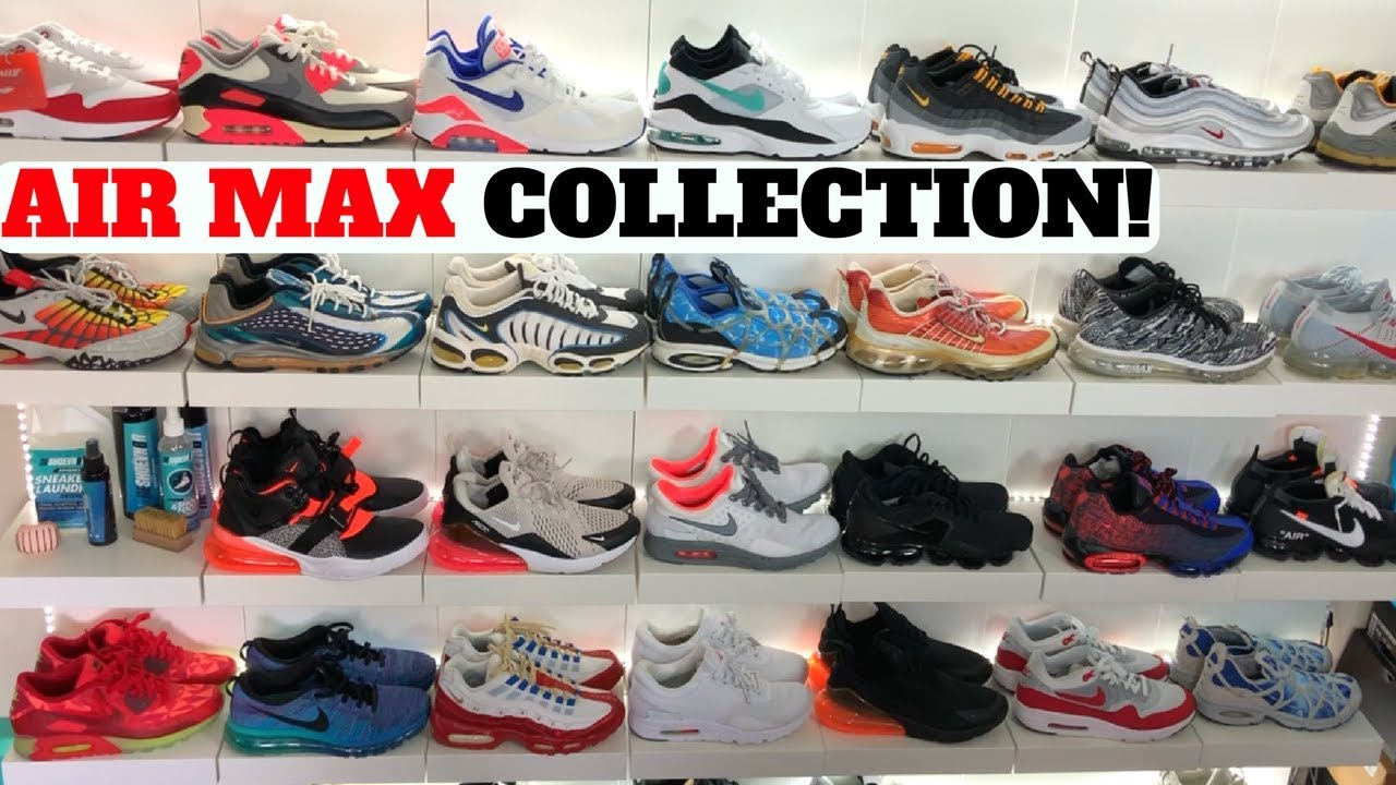 Air Max Sneaker Collection I Got Popped Air Max From Ebay More - Air Max Sneaker Collection! I Got Popped Air Max From Ebay + More