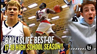 Ballislife BEST Plays of 17 18 HS Season aka Mac McClung Zion Trying To OUTDO Each Other - Ballislife BEST Plays of 17-18 HS Season aka Mac McClung & Zion Trying To OUTDO Each Other!