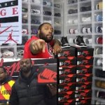 GOT FREE JORDANS W/ DAMMNDEE AND FINELINE1721 AT JORDAN HOMAGE TO HOME EVENT! SHADOW 1 PICK UP VLOG