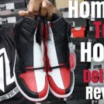 """HONEST OPINION! EARLY LOOK 100% AUTHENTIC AIR JORDAN 1 """"HOMAGE TO HOME"""""""