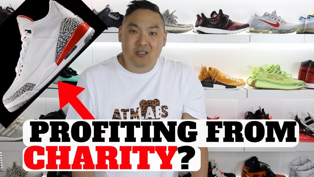 Profiting From A CHARITY Sneaker Or No Air Jordan 3 Katrina - Profiting From A CHARITY Sneaker Or No? (Air Jordan 3 Katrina)