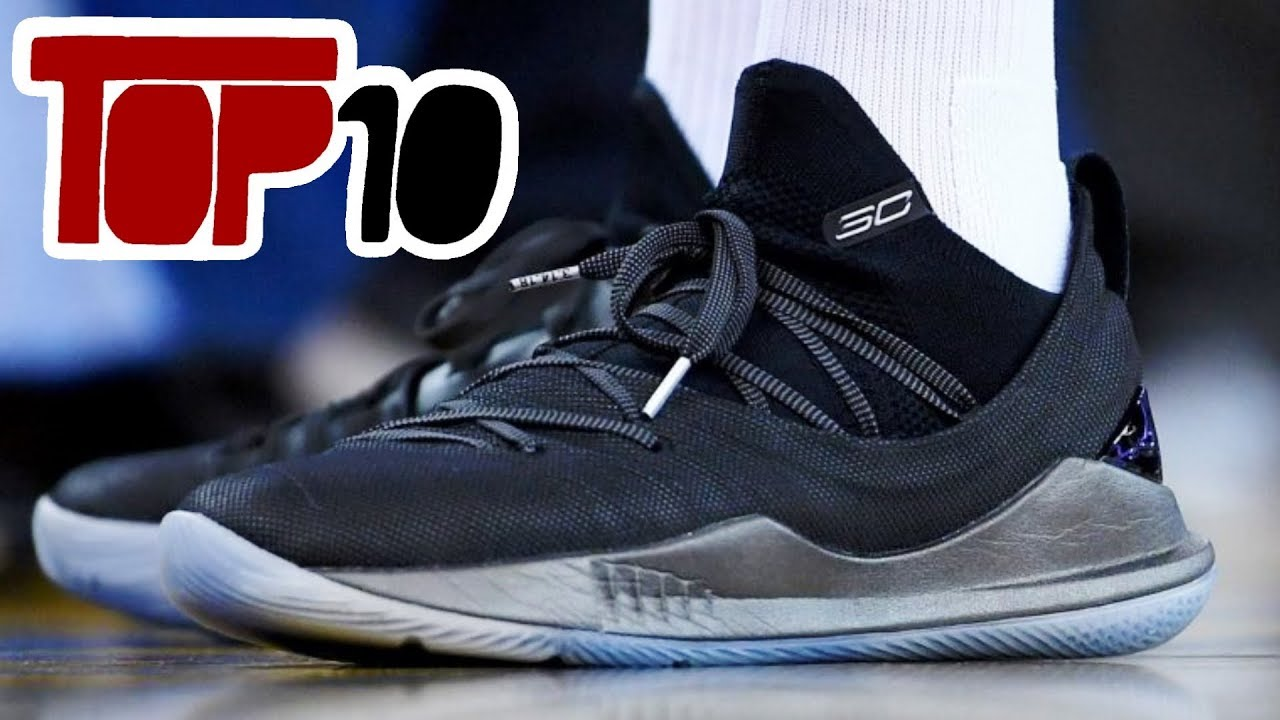 Top 10 NBA Signature Basketball Shoes of 2018 - Top 10 NBA Signature Basketball Shoes of 2018