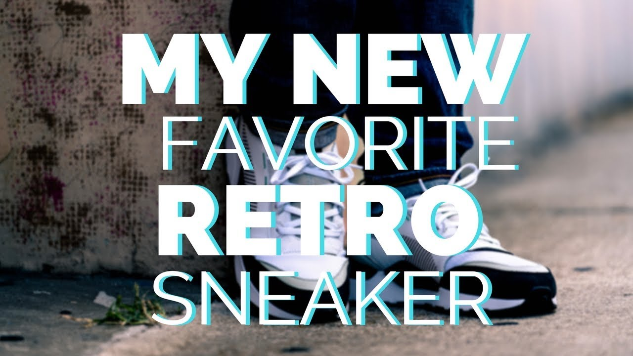 WEARING MY NEW FAVORITE RETRO SNEAKERS - WEARING MY NEW FAVORITE RETRO SNEAKERS!