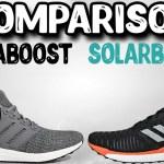 Adidas Ultraboost Solarboost Comparison!