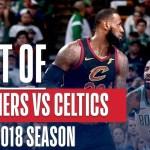 Best Plays From The Regular Season Matchup: Celtics vs Cavaliers