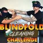 Blindfolded Reebok Classic Cleaning Challenge