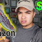 I BOUGHT $20 YEEZYS FROM AMAZON AND GOT THESE!! **UNBOXING GONE WRONG**