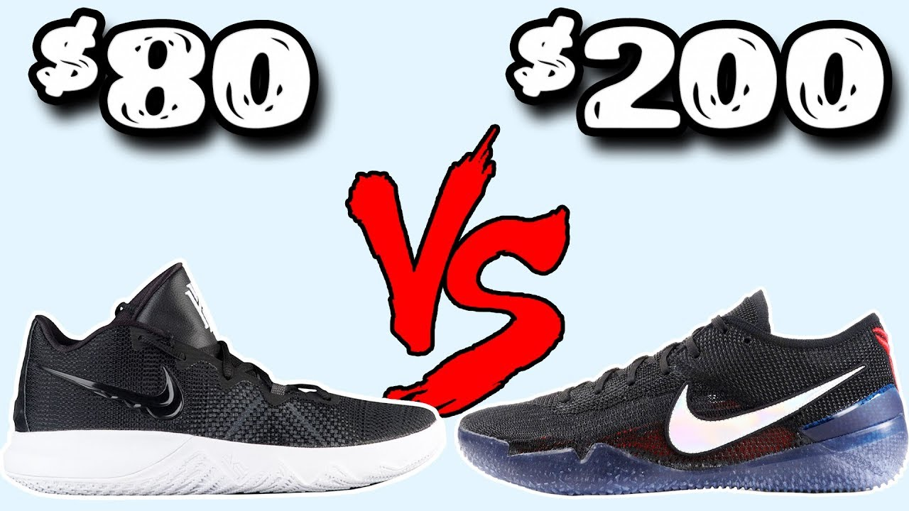 Kyrie Flytrap vs Kobe AD NXT 360 80 vs 200 Comparison Worth the Price - Kyrie Flytrap vs Kobe AD NXT 360! $80 vs $200 Comparison! Worth the Price?