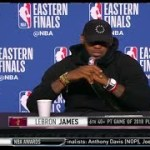 LeBron James   Eastern Conference Finals Game 4 Press Conference