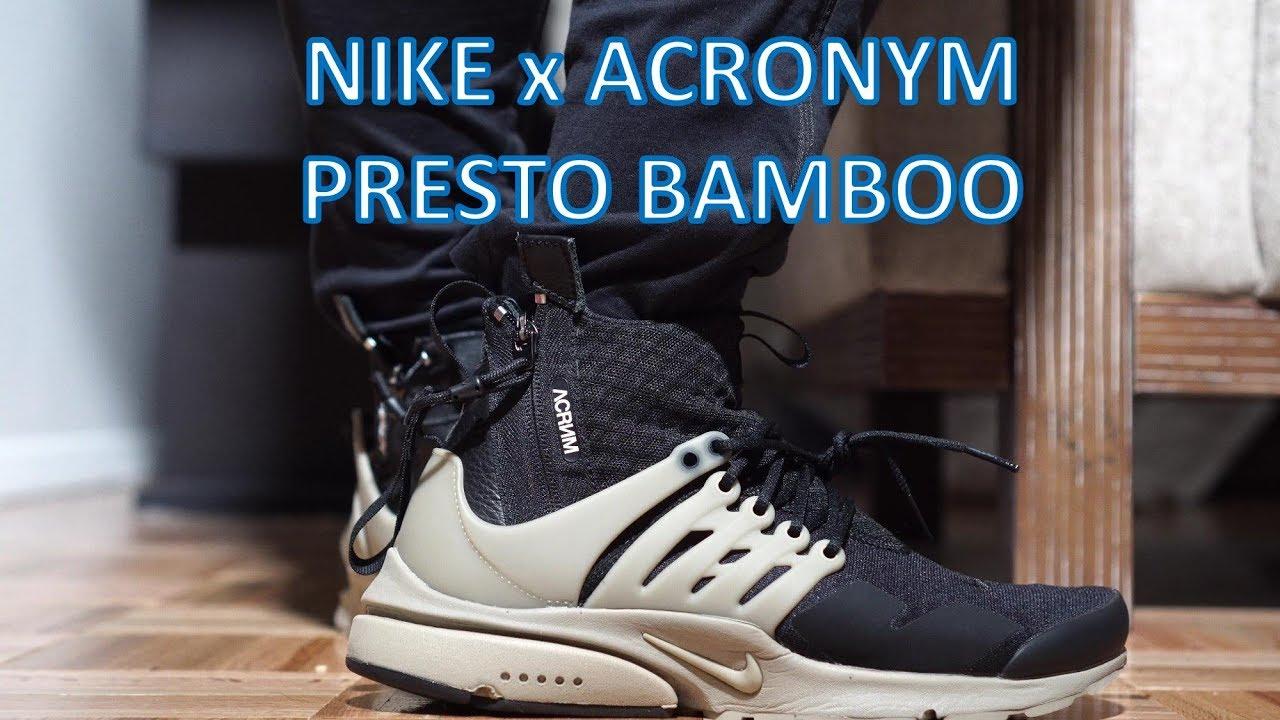 Nike Acronym Presto ReviewOn feet - Nike Acronym Presto - Review/On-feet