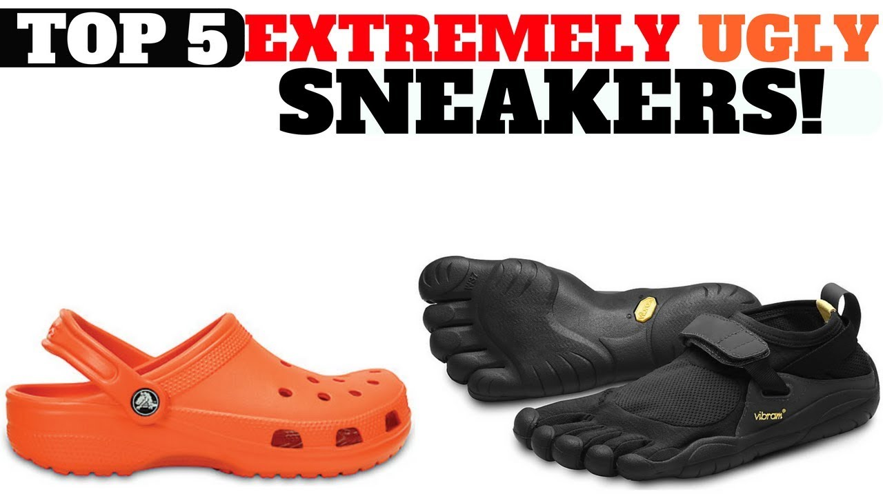 Top 5 EXTREMELY UGLY SNEAKERS - Top 5 EXTREMELY UGLY SNEAKERS!!