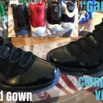 "WHICH PAIR IS BETTER? JORDAN 11 ""PROM NIGHT""""CAP AND GOWN"" COMPARISON TO JORDAN 11 ""GAMMA"""