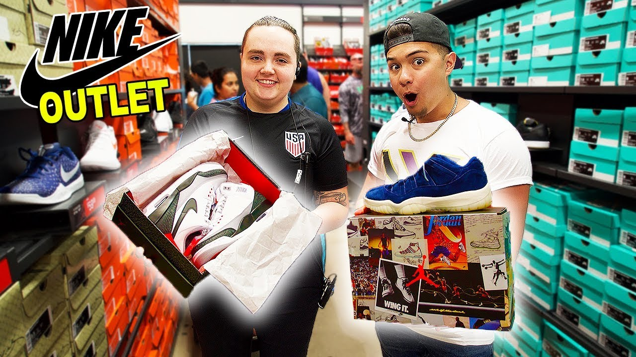 Finding The Rarest Jordans In The World At The Nike Outlet - Finding The Rarest Jordans In The World At The Nike Outlet!