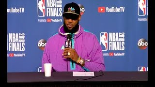 LeBron James Game 3 NBA Finals Press Conference - LeBron James   Game 3 NBA Finals Press Conference