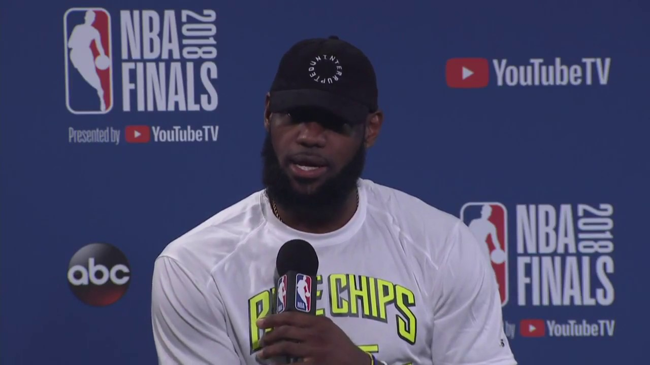 LeBron James Kevin Love Interview NBA Finals Game 2 Media Availability - LeBron James & Kevin Love Interview |  NBA Finals Game 2 Media Availability