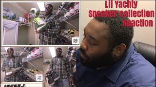 REACTION VIDEO Lil Yachty 100k Sneakers Collection On Complex Closets - REACTION VIDEO! Lil Yachty $100k  Sneakers Collection On Complex Closets