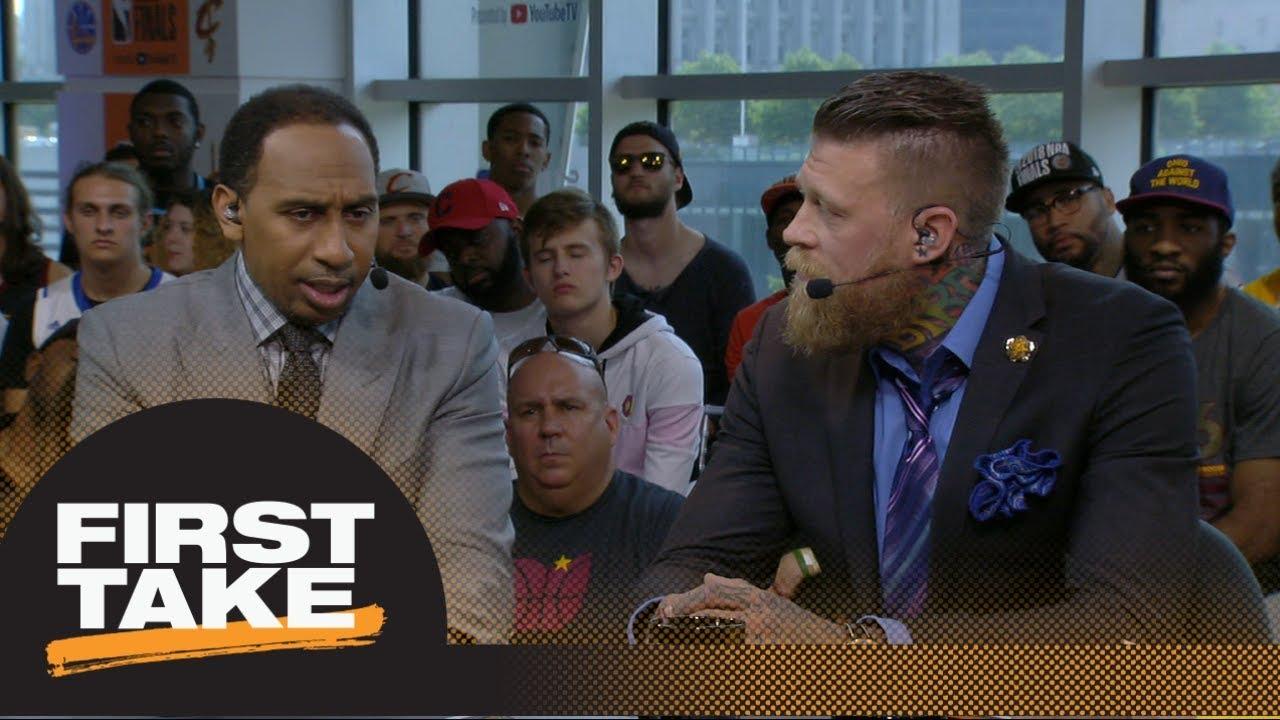 Stephen A. Smith Chris Andersen debate if LeBron deserves NBA Finals MVP First Take ESPN - Stephen A. Smith, Chris Andersen debate if LeBron deserves NBA Finals MVP | First Take | ESPN