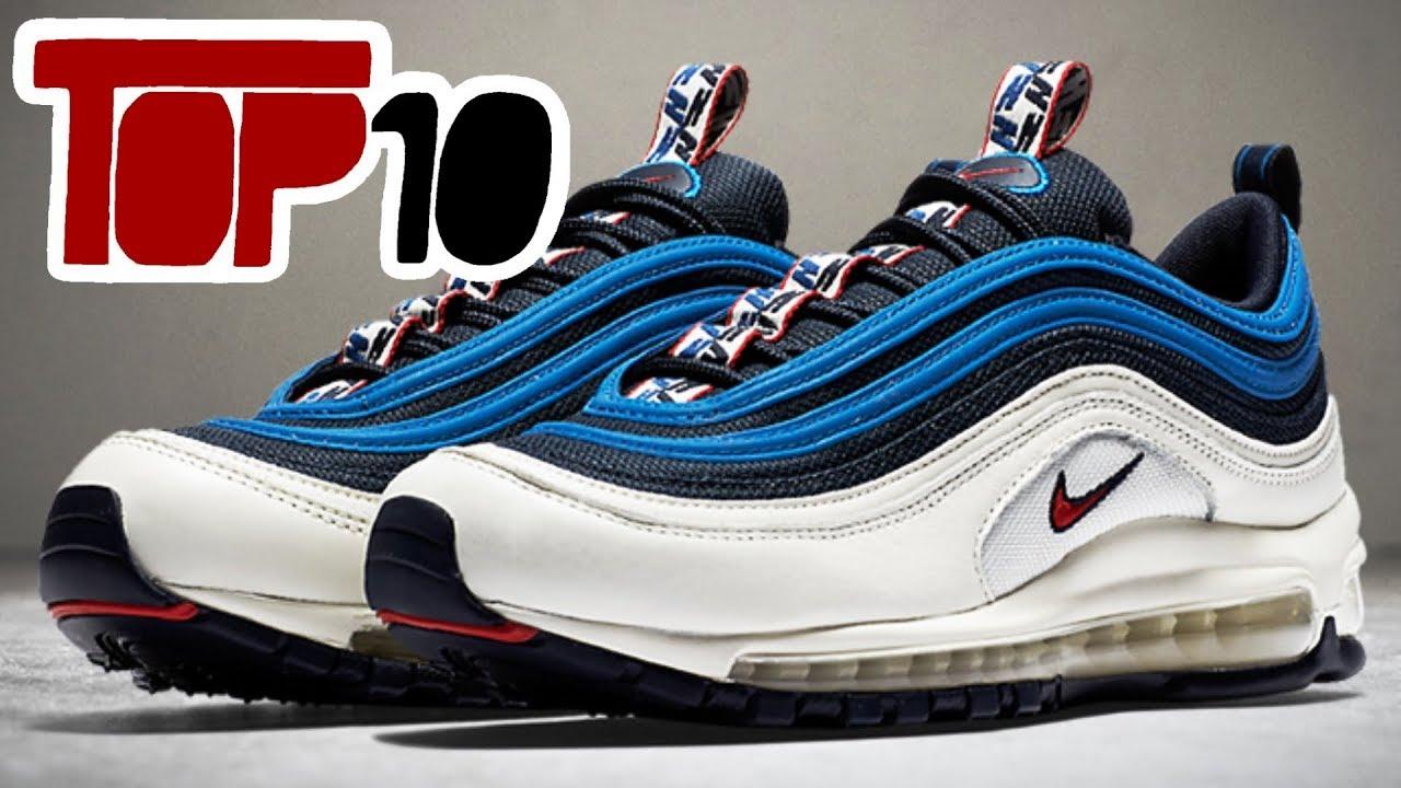 top 10 nike sneakers 2018