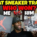 DID I WIN OR LOSE THIS SNEAKER TRADE?? 🤔🤔🤔🤔