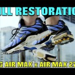 OG AIR MAX PLUS RESTORATION/HYRBID (FIRE SWAP)