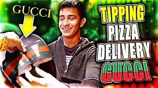 TIPPING PIZZA DELIVERY GUYS GUCCI - TIPPING PIZZA DELIVERY GUYS GUCCI!!