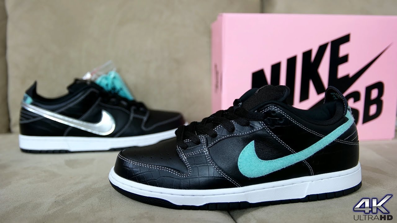 "NIKE SB DUNK LOW DIAMOND SUPPLY FULL DETAILED REVIEW - NIKE SB DUNK LOW ""DIAMOND SUPPLY"" FULL DETAILED REVIEW"