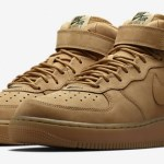 "『直リンク』11月3日発売 NIKElab AIR FORCE 1 Mid ""Flax"""