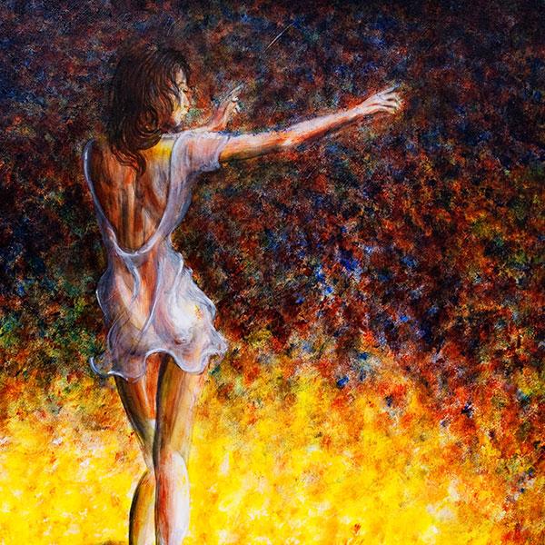 dancer ballet painting