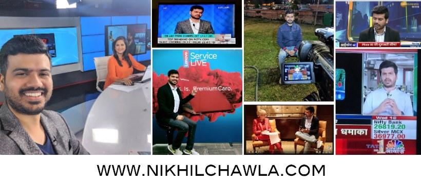 Journalist Nikhil Chawla