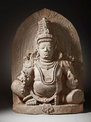 11th-century statue of Kubera