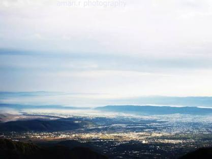View from Mussoorie-The Queen of hills