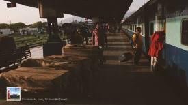 Platform View at Dehradoon Railway Station