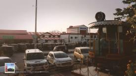 Outside Dehradoon Railway Station