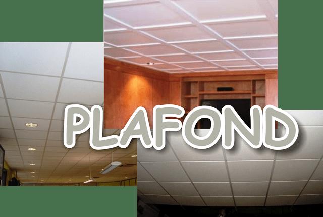 Harga dan bahan pemasangan plafond