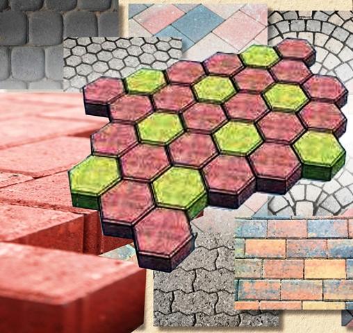 Jenis Ukuran Paving Block dan Conblock