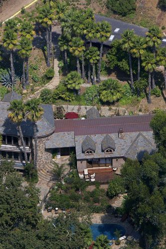 Britney Spears' home in Malibu 2007