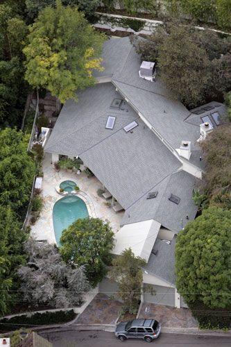 Sandra Bullock's home in Hollywood hills