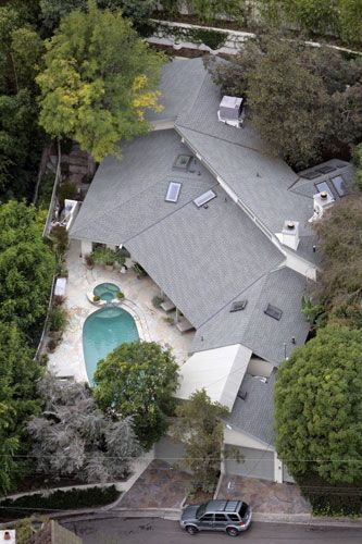 Sandra Bullock's home in Hollywood hills