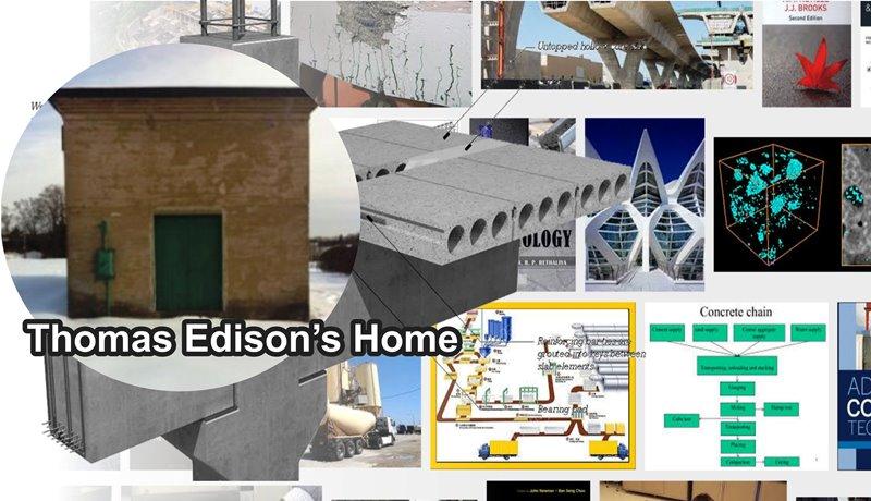 Thomas Edison Single Pour System Sistem Konstruksi Massal