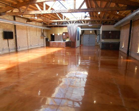Penggunaan Epoxy Coating - Ide Contoh Epoxy - Metallic Epoxy Floor