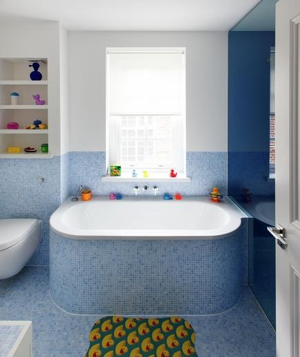 Memilih Material Ubin Kamar Mandi - contoh desain kamar mandi - Singing the Blues