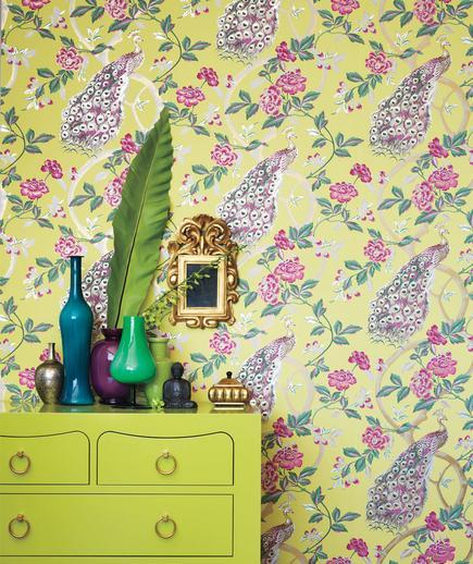 24 Contoh Desain Wallpaper Dinding yang Cantik - Dramatic - Best Home Wallpaper Design